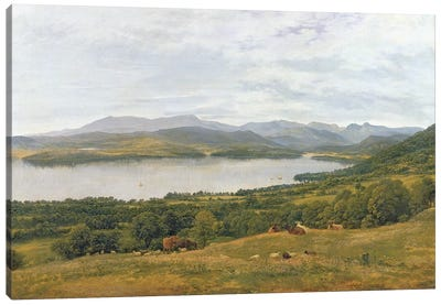 The Head of Windermere  Canvas Art Print