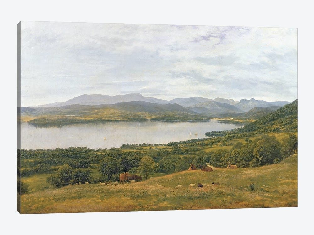 The Head of Windermere  by John Glover 1-piece Canvas Print