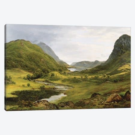 Thirlmere  Canvas Print #BMN10714} by John Glover Canvas Wall Art