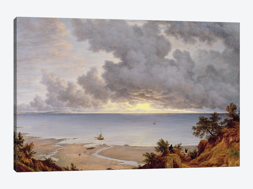 View from Shanklin, Isle of Wight, c.1827  by John Glover 1-piece Art Print