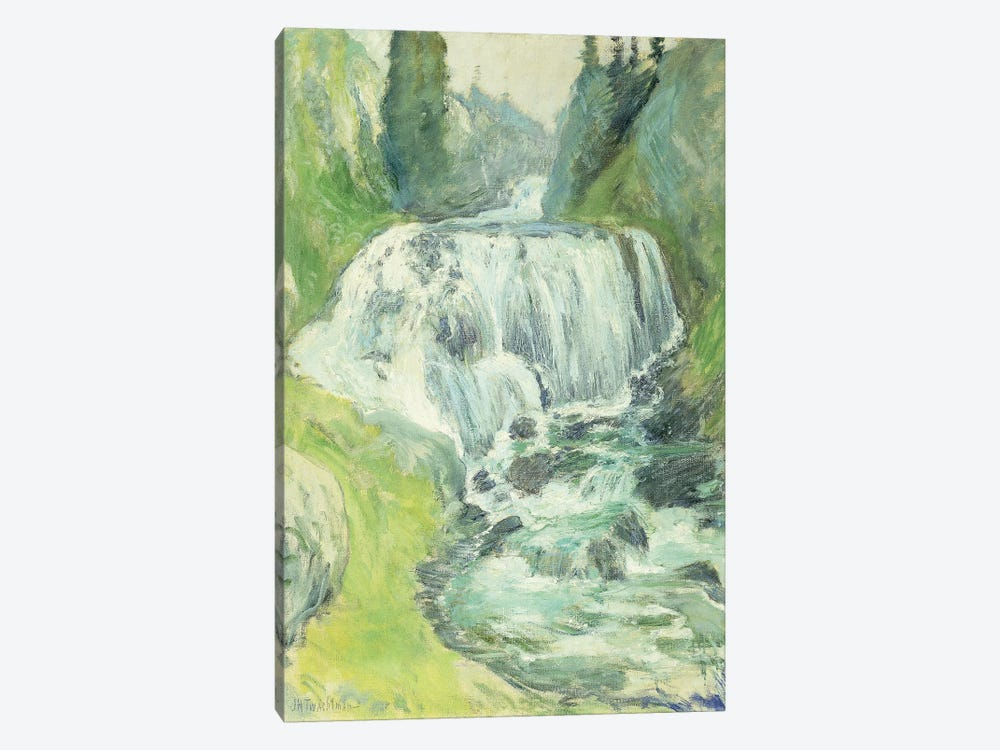 Cascades,  by John Henry Twachtman 1-piece Canvas Art