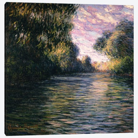 Morning on the Seine, 1897 Canvas Print #BMN1072} by Claude Monet Canvas Print