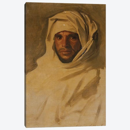 A Bedouin Arab  Canvas Print #BMN10786} by John Singer Sargent Canvas Art Print