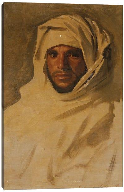 A Bedouin Arab  Canvas Art Print