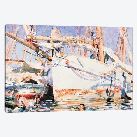 A Falucho  Canvas Print #BMN10787} by John Singer Sargent Canvas Art Print