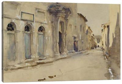 A Street in Spain  Canvas Art Print