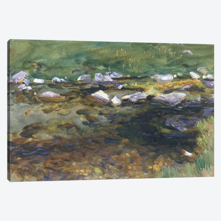 Brook and Meadow, c.1907  Canvas Print #BMN10789} by John Singer Sargent Canvas Art