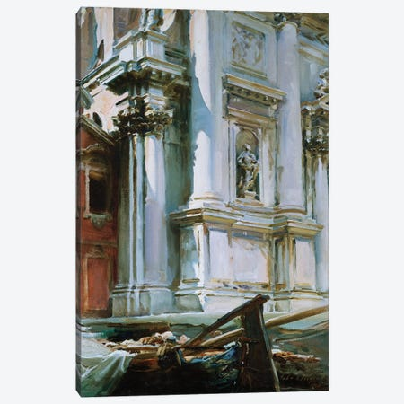 Church of St. Stae, Venice, 1913  Canvas Print #BMN10790} by John Singer Sargent Canvas Print