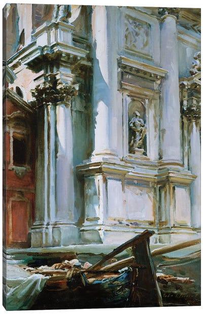 Church of St. Stae, Venice, 1913  Canvas Art Print