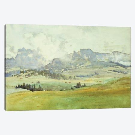 In the Dolomites, 1914  Canvas Print #BMN10792} by John Singer Sargent Art Print