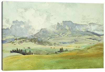 In the Dolomites, 1914  Canvas Art Print