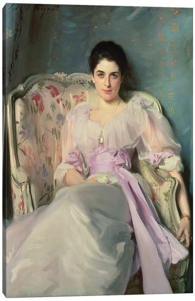Lady Agnew of Lochnaw, c.1892-93  Canvas Art Print