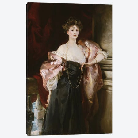 Portrait of Lady Helen Vincent, Viscountess D'Abernon, 1904  Canvas Print #BMN10802} by John Singer Sargent Canvas Print