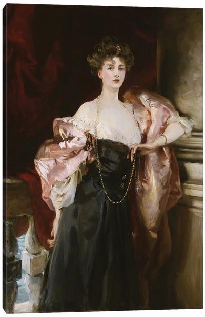 Portrait of Lady Helen Vincent, Viscountess D'Abernon, 1904  Canvas Art Print