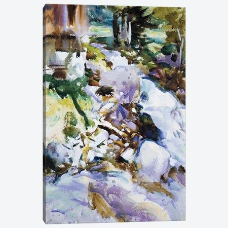 Rushing Brook, c.1904-11  Canvas Print #BMN10803} by John Singer Sargent Art Print