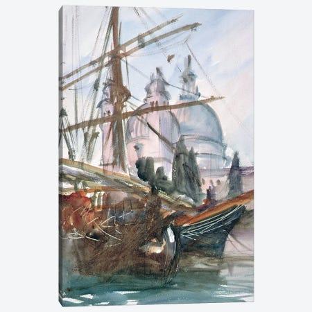 Santa Maria della Salute, Venice  Canvas Print #BMN10804} by John Singer Sargent Canvas Artwork