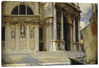 Santa Maria della Salute, Venice,  Canvas Art Print