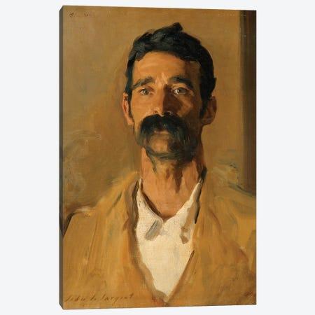 Study of a Sicilian peasant, 1907  Canvas Print #BMN10808} by John Singer Sargent Canvas Art Print