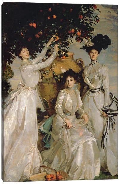 The Acheson Sisters  Canvas Art Print