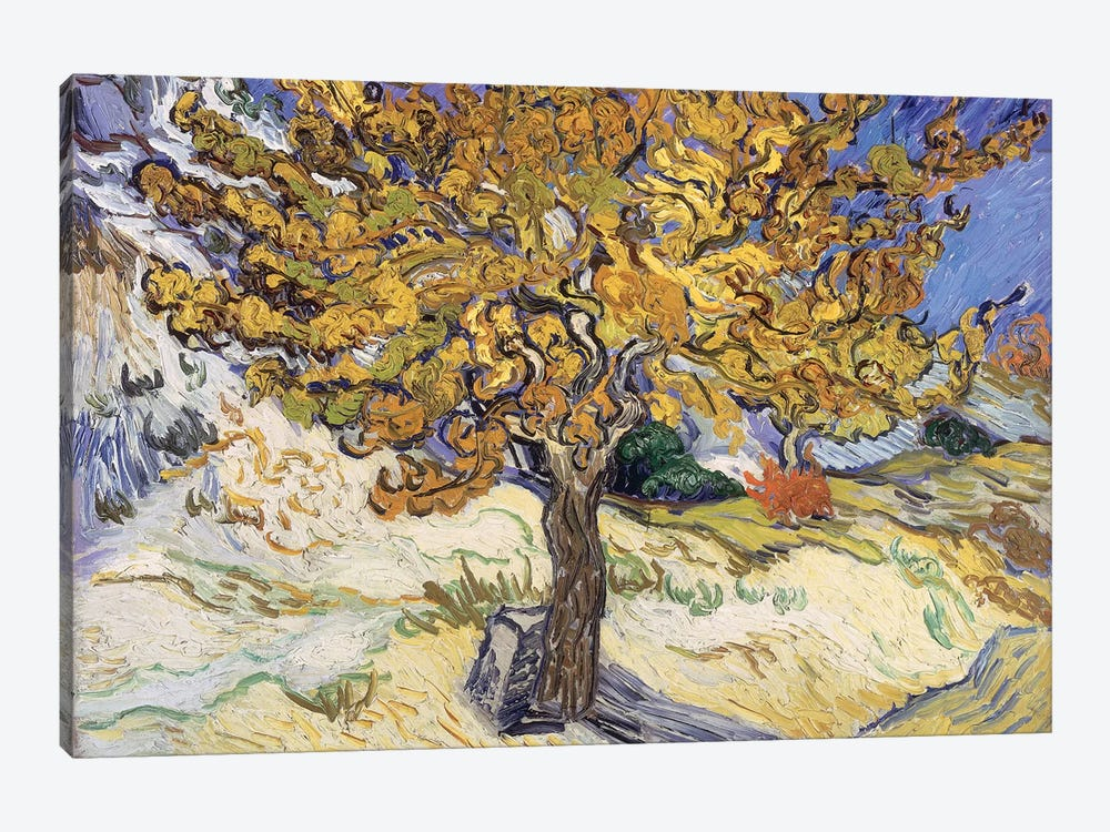 Mulberry Tree, 1889  by Vincent van Gogh 1-piece Art Print