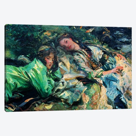 The Brook Canvas Print #BMN10810} by John Singer Sargent Canvas Art