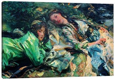 The Brook Canvas Art Print