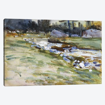 The Brook  Canvas Print #BMN10811} by John Singer Sargent Canvas Art