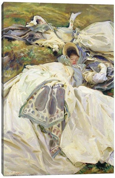 Two White Dresses, 1911  Canvas Art Print