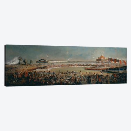 Delhi Durbar, celebration on the occasion of Queen Victoria becoming Empress of India, 1877 Canvas Print #BMN1081} by Alexander Caddy Canvas Art