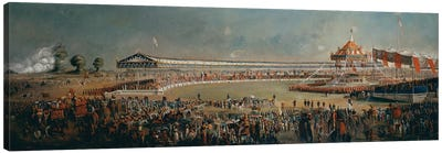 Delhi Durbar, celebration on the occasion of Queen Victoria becoming Empress of India, 1877 Canvas Art Print
