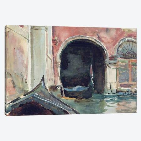 Venetian Canal  Canvas Print #BMN10820} by John Singer Sargent Art Print