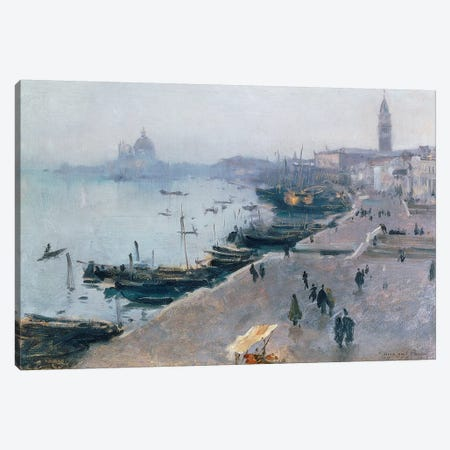Venice in Grey Weather  Canvas Print #BMN10822} by John Singer Sargent Art Print
