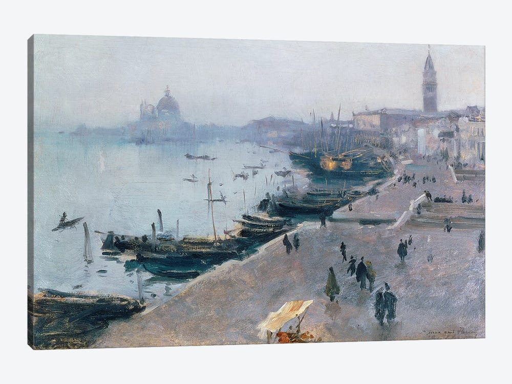 Venice in Grey Weather  by John Singer Sargent 1-piece Art Print