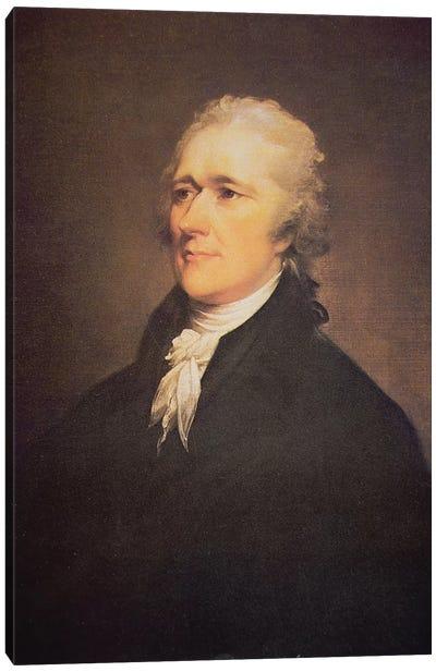 Alexander Hamilton  c.1806  Canvas Art Print
