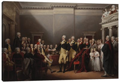 The Resignation of George Washington on 23rd December 1783, c.1822  Canvas Art Print