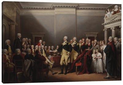 The Resignation of George Washington on 23rd December 1783, c.1822  Canvas Art Print