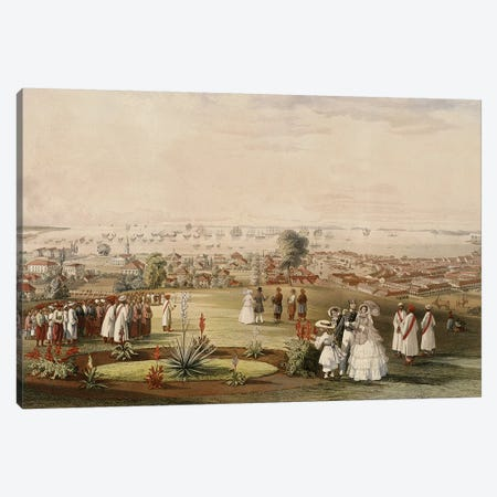 View of Singapore from Fort Canning, 1846  Canvas Print #BMN10832} by John Turnbull Thomson Canvas Art