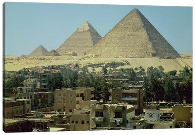 The Pyramids of Giza, c.2589-30 BC, Old Kingdom  Canvas Art Print