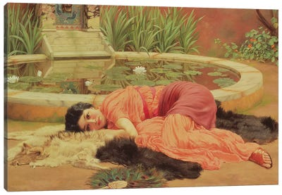 Dolce Far Niente, 1904  Canvas Art Print