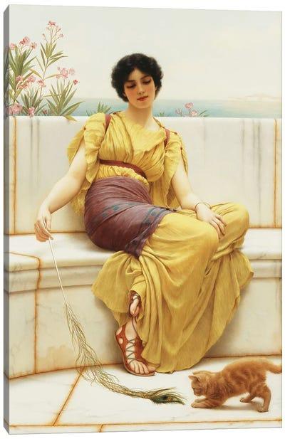 Idleness, 1900  Canvas Art Print