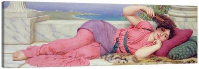 Noon Day Rest, 1910  Canvas Art Print