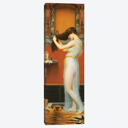 The Toilet, 1900  Canvas Print #BMN10846} by John William Godward Canvas Art