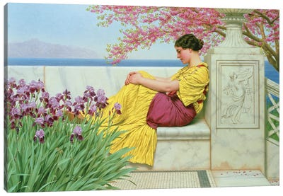 Under the Blossom that Hangs on the Bough, 1917  Canvas Art Print