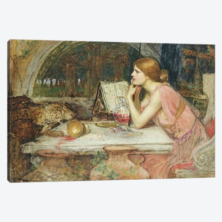 Circe  1911  Canvas Print #BMN10851} by John William Waterhouse Canvas Artwork