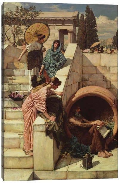 Diogenes  1882  Canvas Art Print