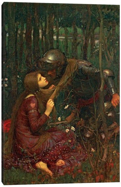 La Belle Dame Sans Merci, 1893  Canvas Art Print