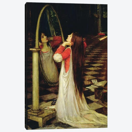 Mariana in the South, c.1897  Canvas Print #BMN10859} by John William Waterhouse Canvas Artwork
