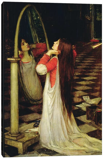 Mariana in the South, c.1897  Canvas Art Print