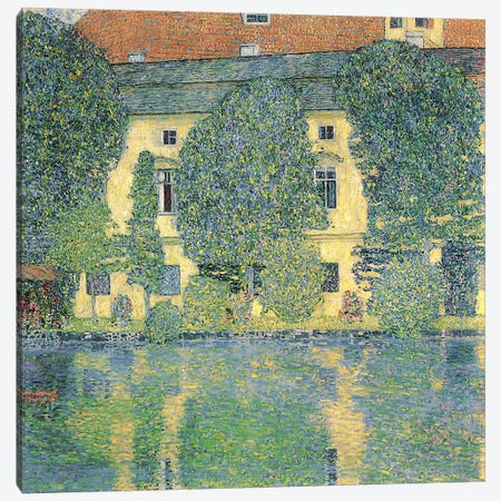 The Schlosskammer on the Attersee III, 1910  Canvas Print #BMN1085} by Gustav Klimt Art Print