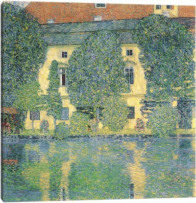 The Schlosskammer on the Attersee III, 1910  Canvas Print #BMN1085